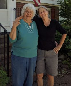 Evelyn and Sue