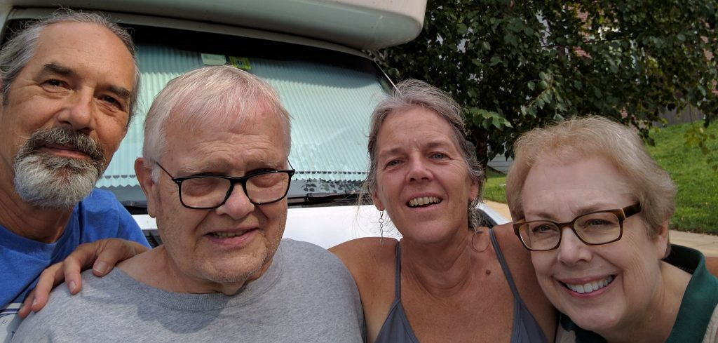 Doug, Jerry, Sue, Suzy